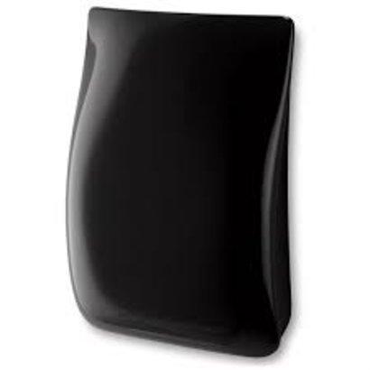 Pressalit Toiletemmer voor wandmontage soft close zwart