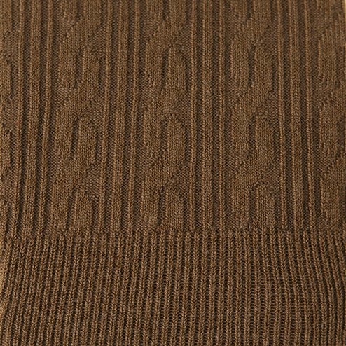 041850018 Legging en coton motif torsadé