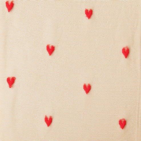 041900053 Collant cœur contraste M