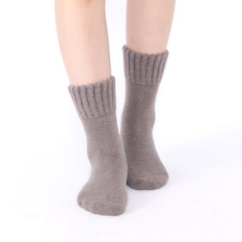 041000026 Bed socks Angora/laine