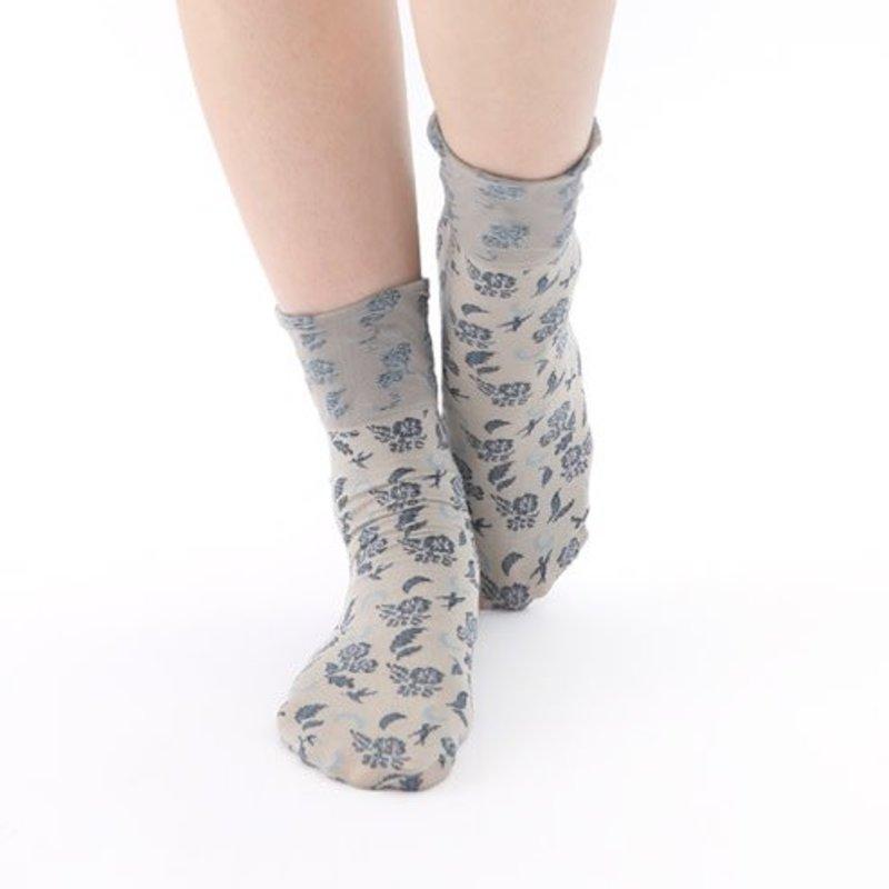 Mini calze a fiori 70D
