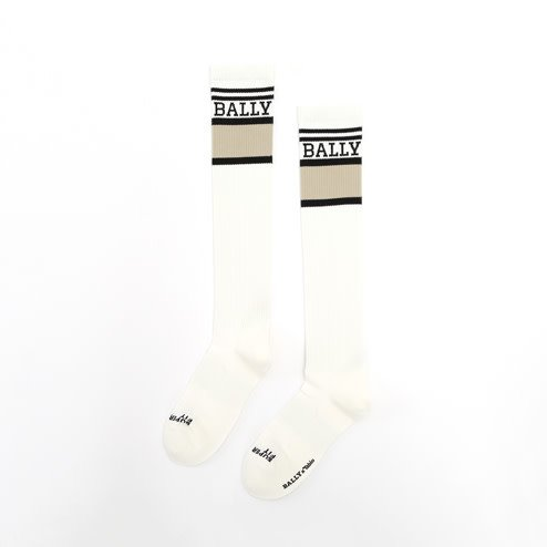 042170900 BALLY x TABIO FINE JERSEY LONG ATHLETIC SOCKS M