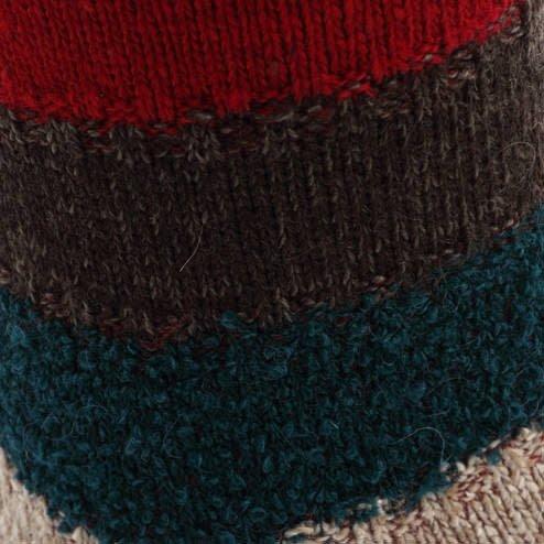 042140316 MC laine rayures multi-couleurs M