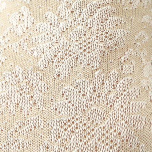 041130796 SQ en coton fleur relief