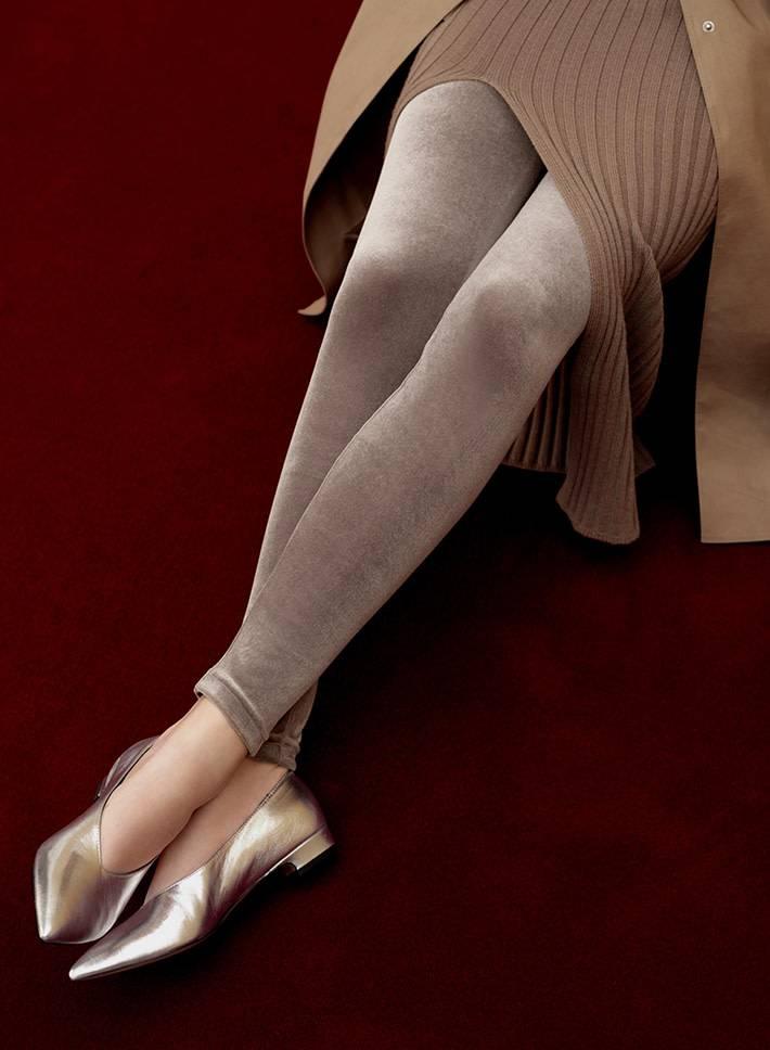 041850035 Leggings en velour Stretchy
