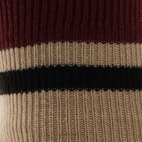 041130803 SQ 2 bandes nœud laine Mérinos