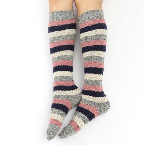 041170091 CH laine rayures chinées