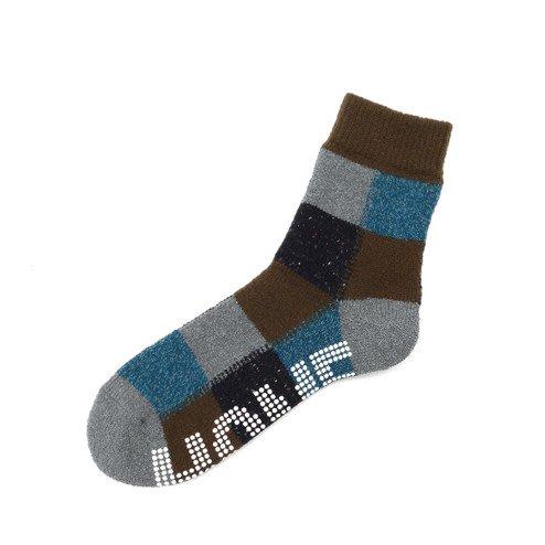042130064 Room Socks anti-dérapant carreaux M
