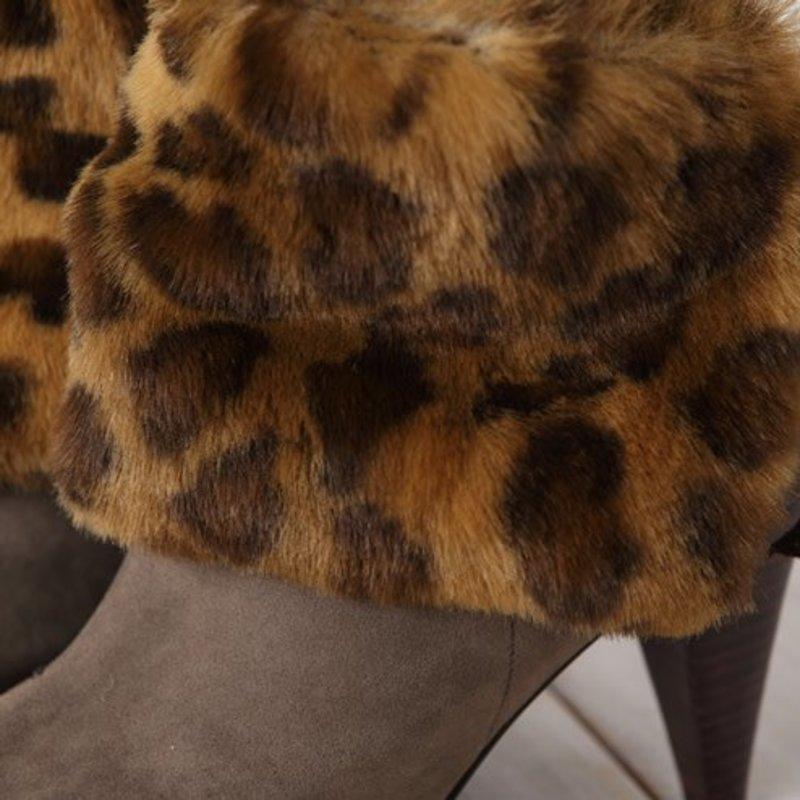 Leopard Kurzbeinwärmer