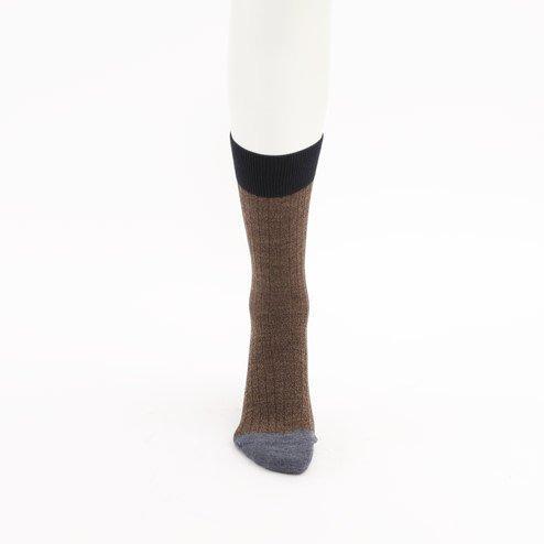 042140399 MC laine bicolore côtes L