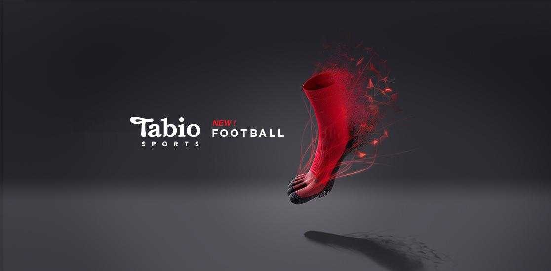 tabio sport new football socks