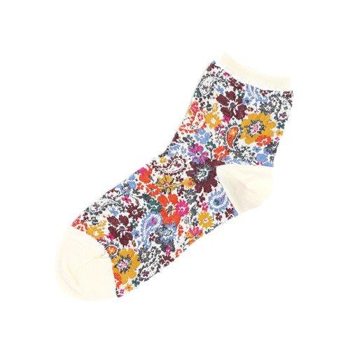 041130811 SQ fleurs et paisley en gaze laine mix