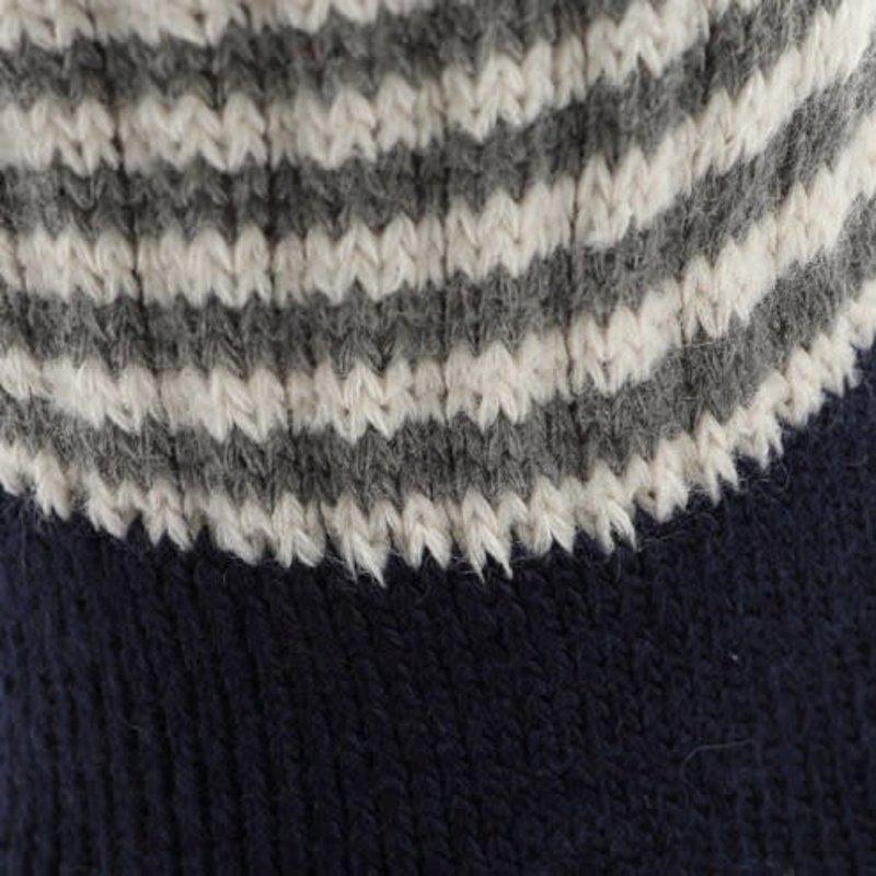Raum Socken Streifen Kante M