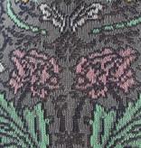 041130890 SQ bord roulé fleurs royales
