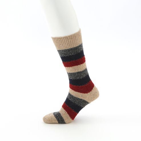 042140372 MC laine rayures chinées L