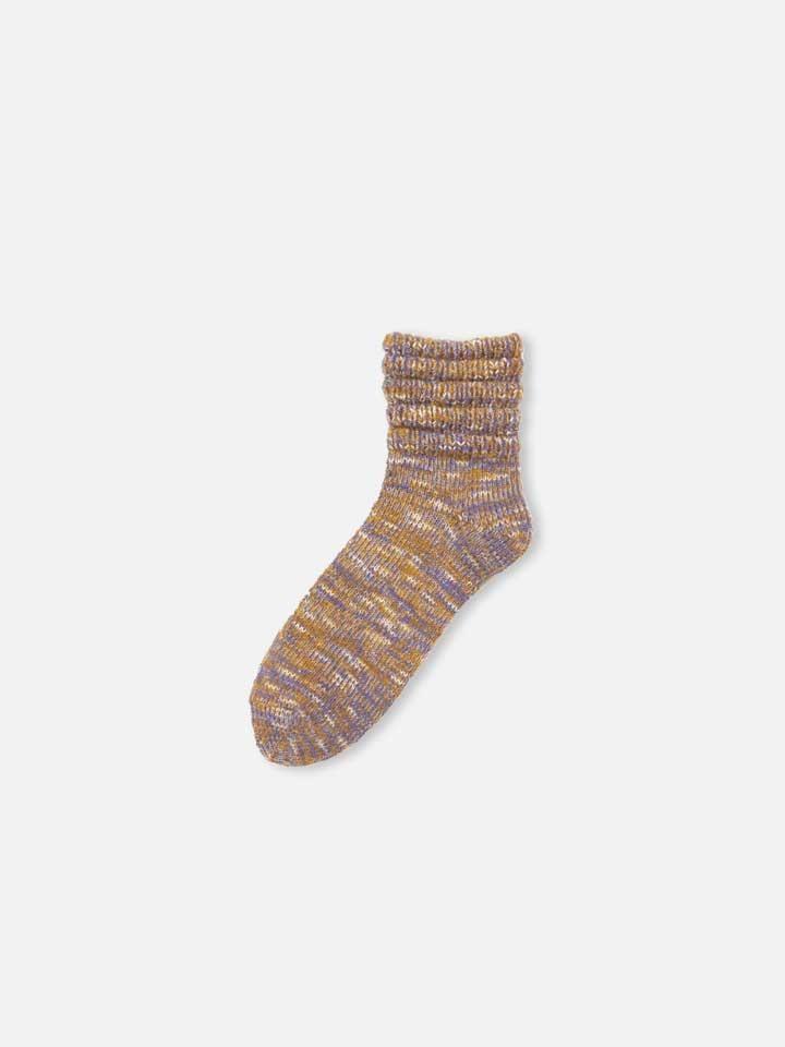 041130456 SQ laine chinées bord plissé