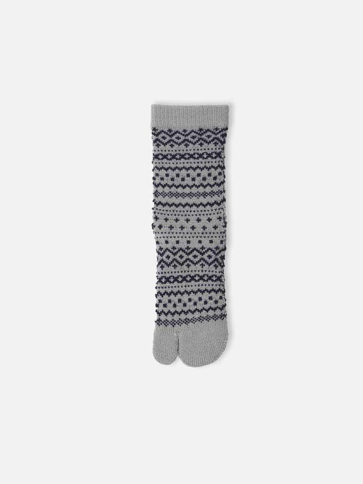 041130800 SQ Tabi motif nordique laine mix