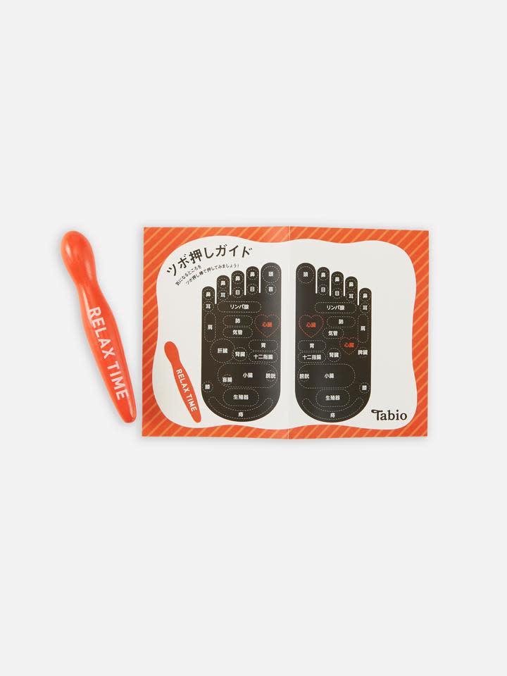 041000006 CC 5 orteils carte d'acupressure +tige S