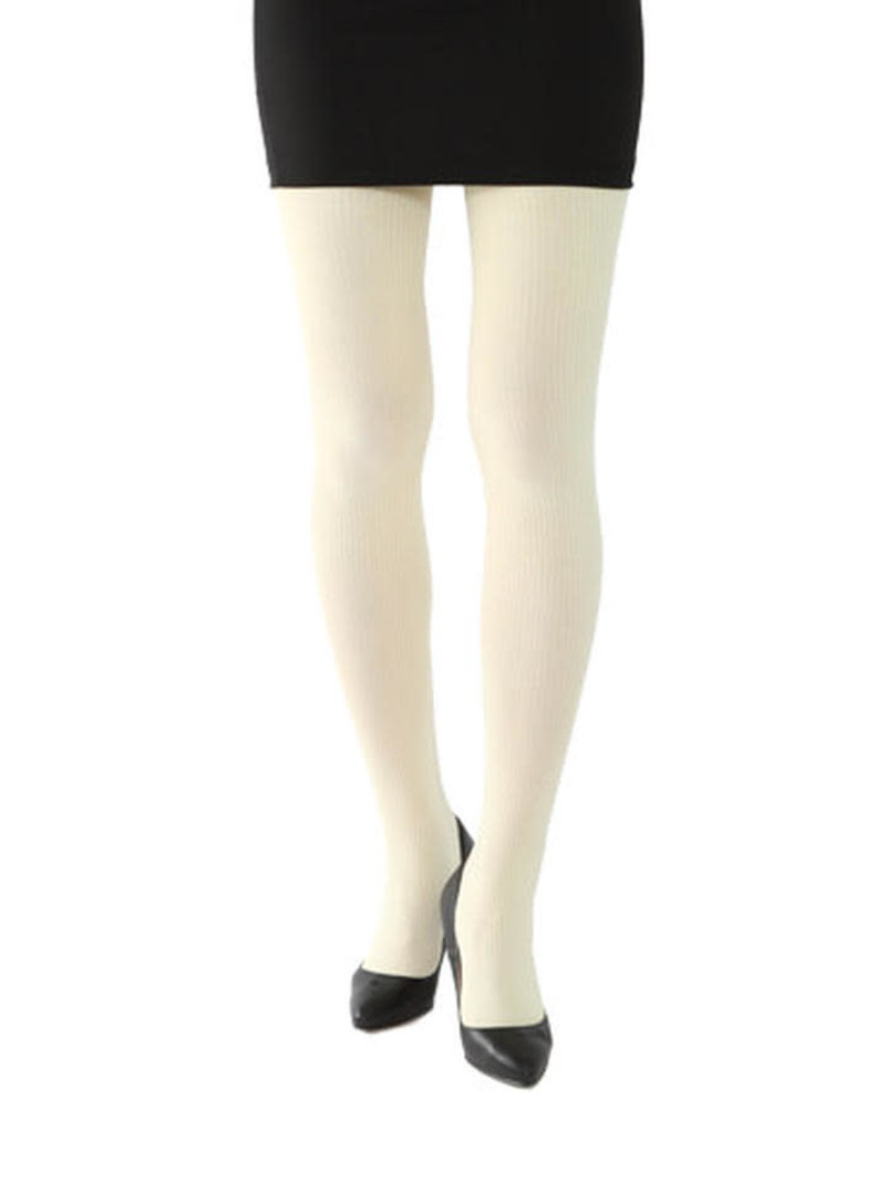 2x2 geribbelde panty 150D M