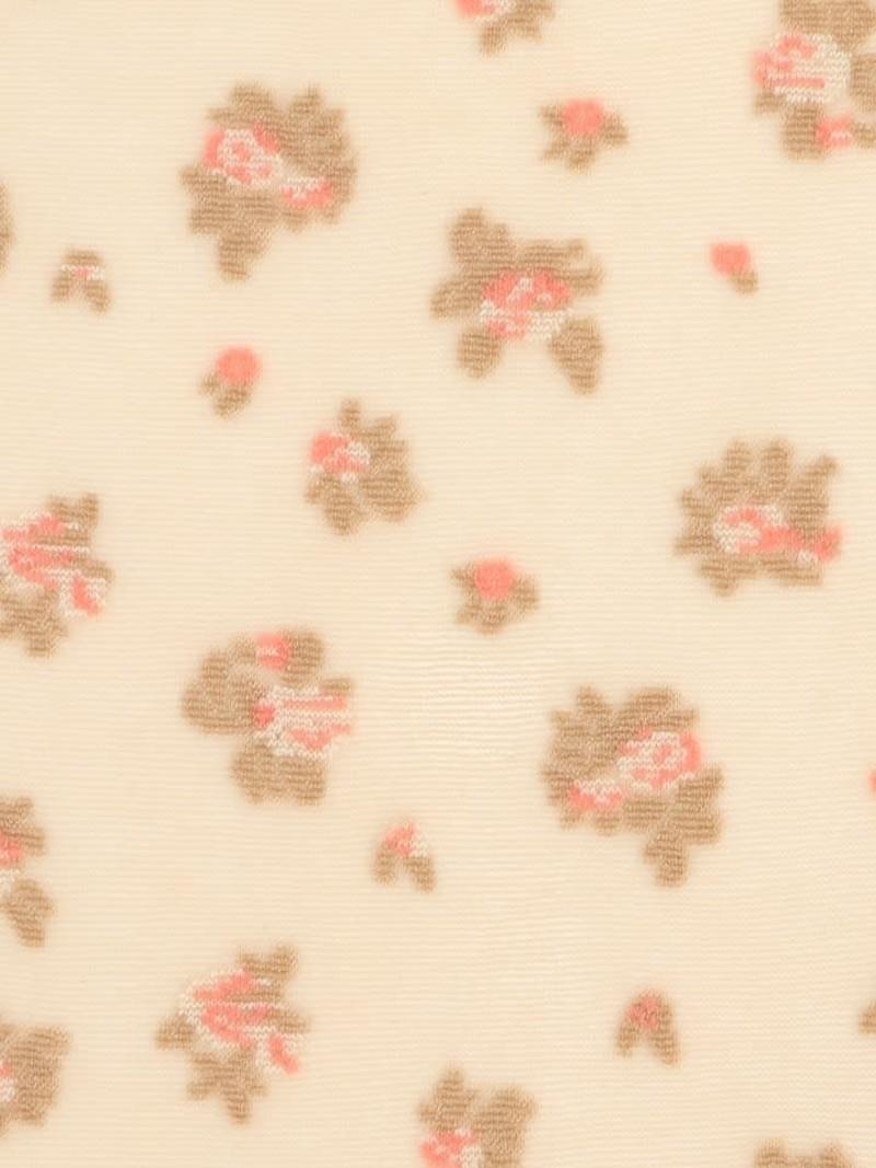 Kniekousen kleine bloemen 20D