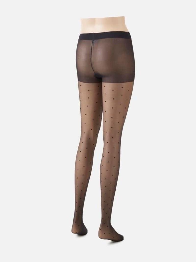 Panty met stippen L