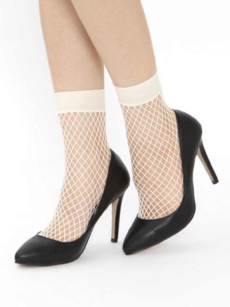 Mini calze a rete di nylon larghe