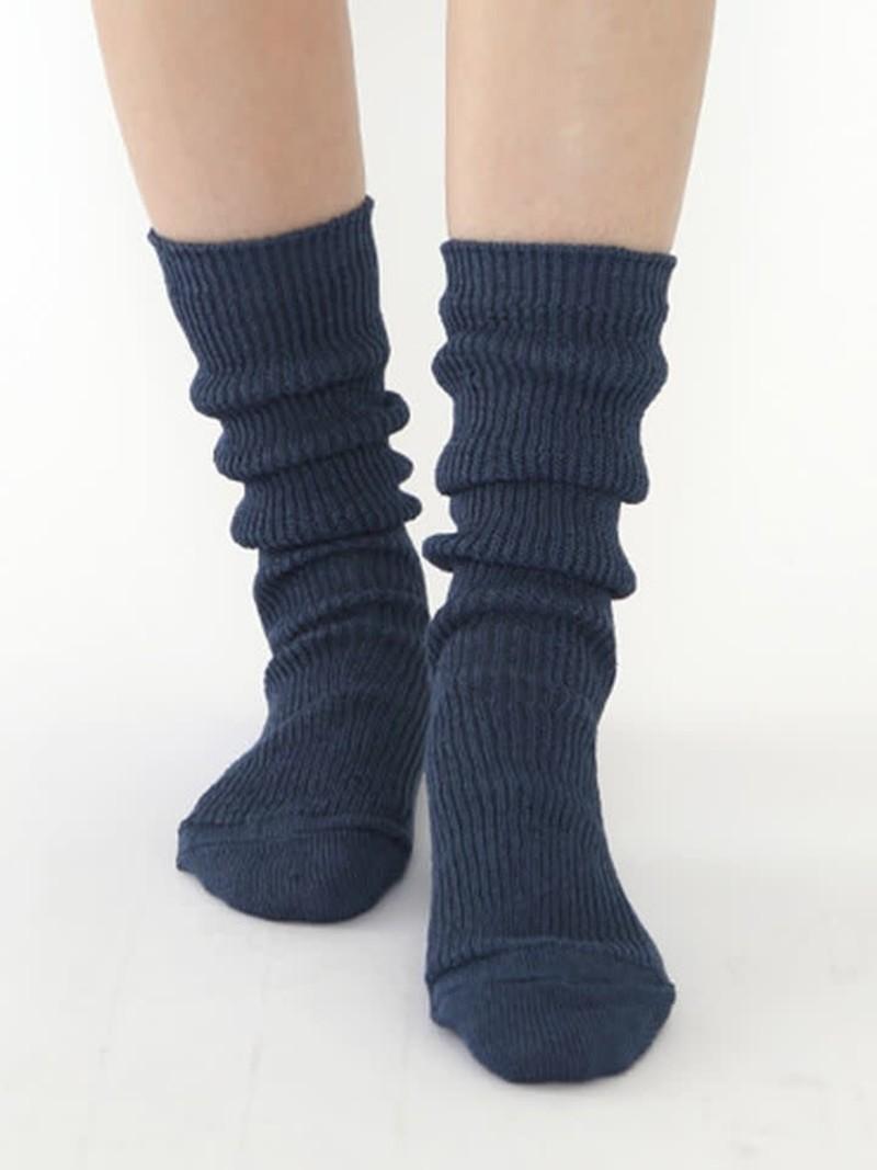 Luxury Linen 3/4 Loose Socks