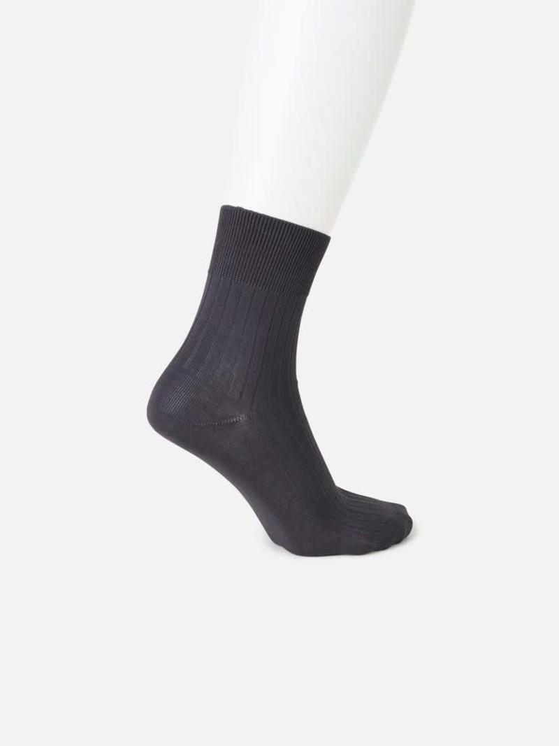 Gerippte Socke 6x2 176N L