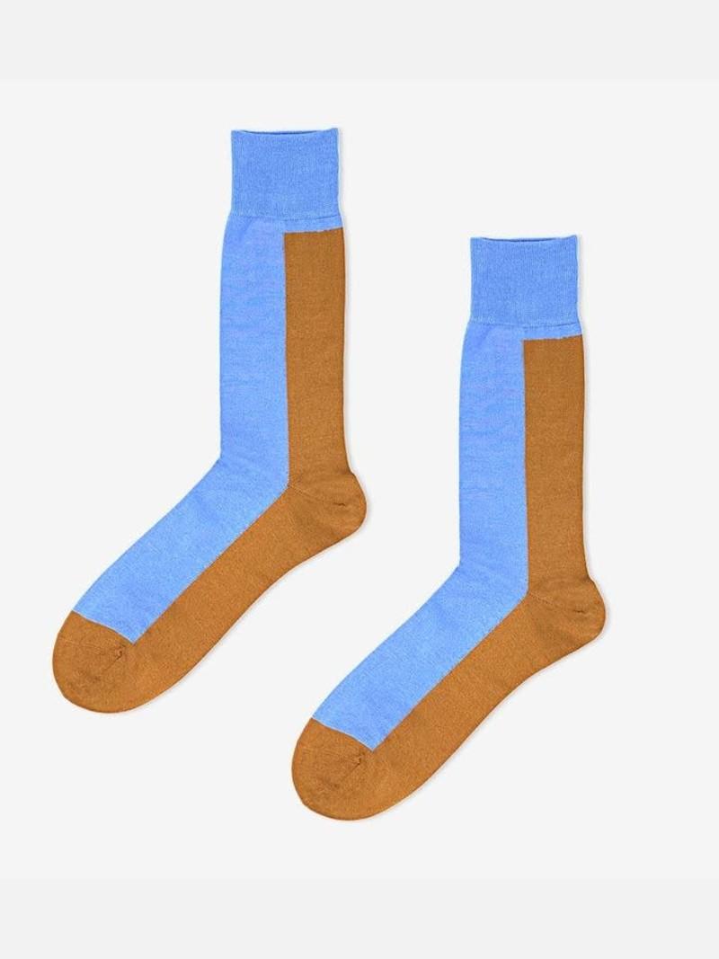 Colour Banner Mid-Calf Socks L