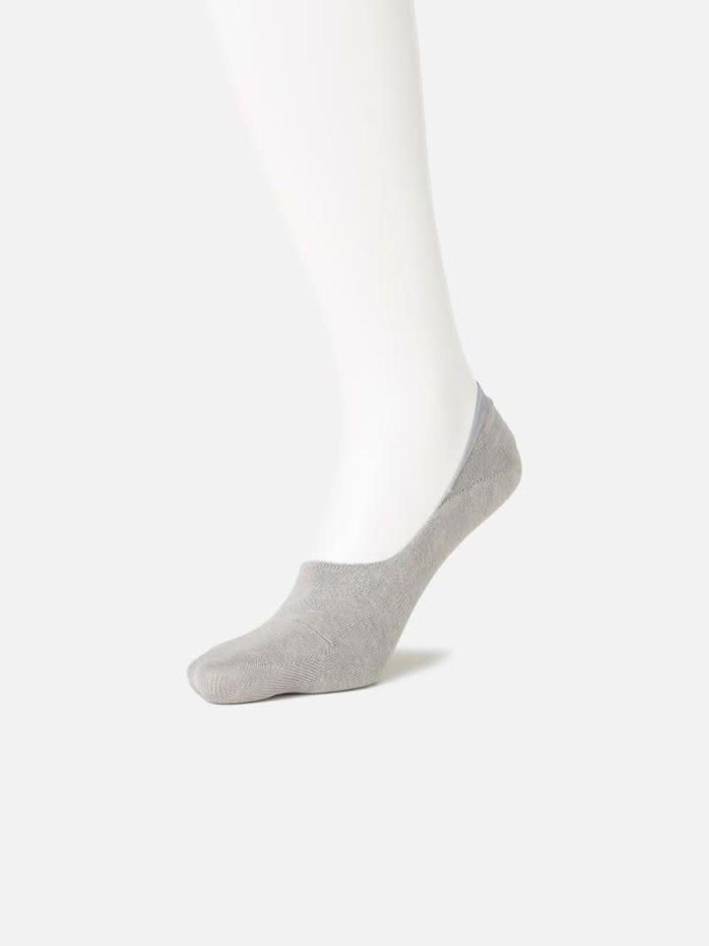 Effen katoenen comfort footsie S