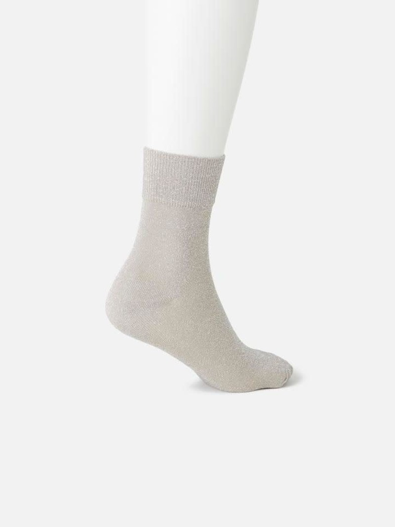 Sparkly Ankle Socks L