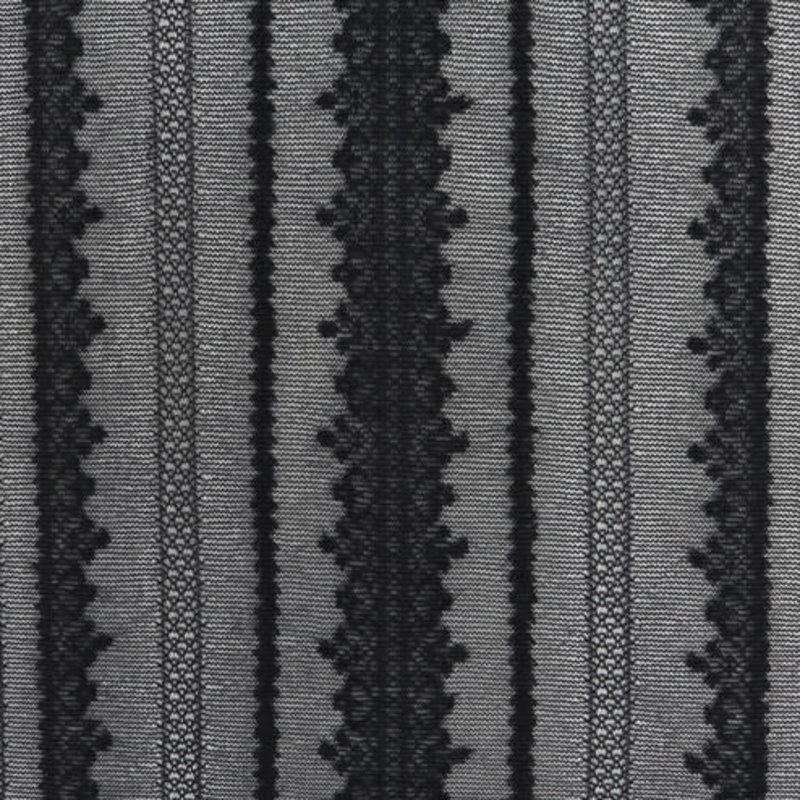 20D gestreifte Spitzenstrumpfhose