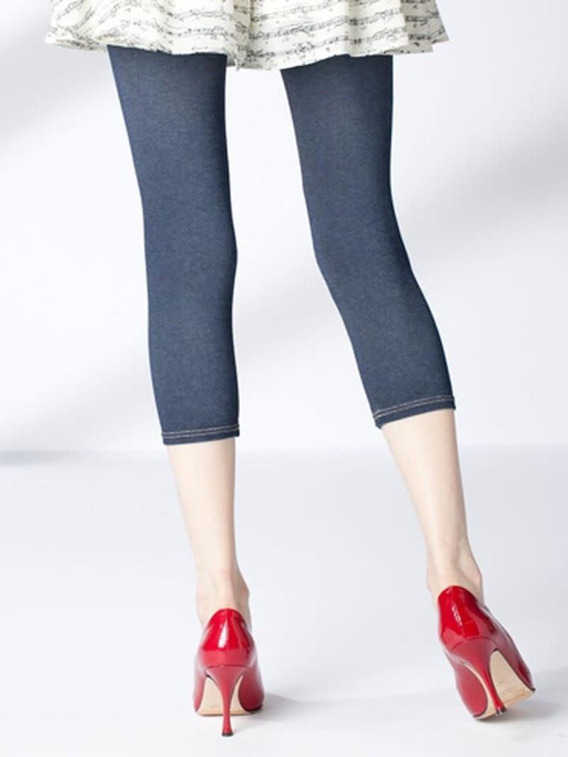 Denim 3/4 Leggings