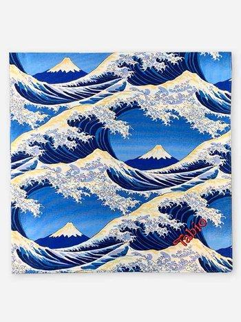 041000083 Emballage Furoshiki (Fuji)_Navy