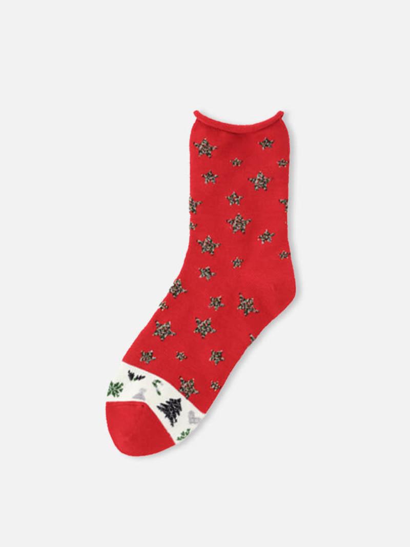 Socquette Étoiles nuit de Noël