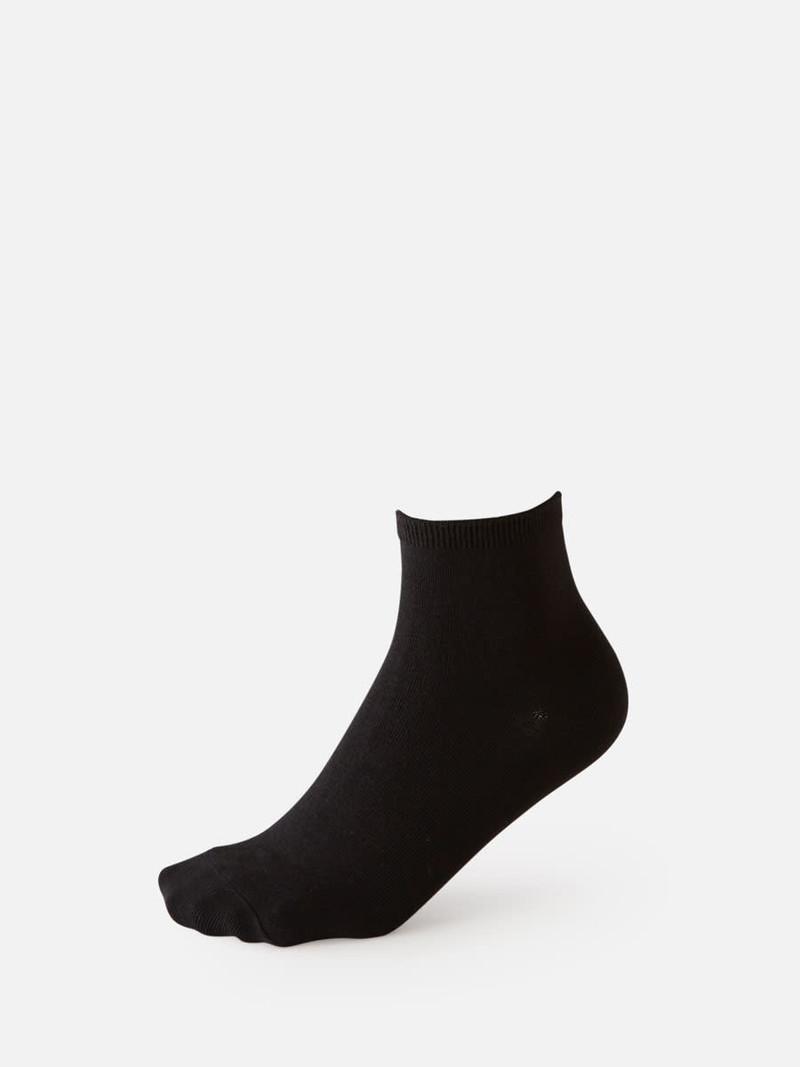 Schlichte Socke mittlerer Stärke