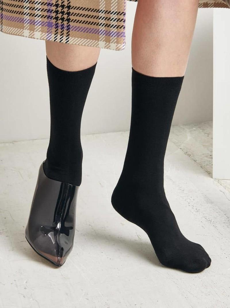 Weiche 3/4 hohe Socke