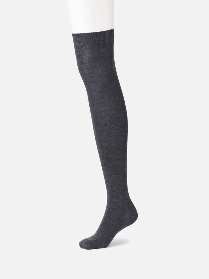 Mittlere lange Socke