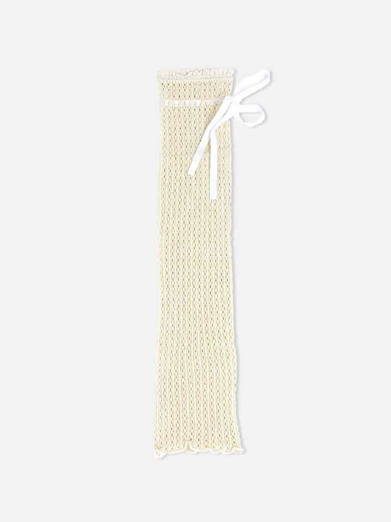 Raschel Ribbon Legwarmer