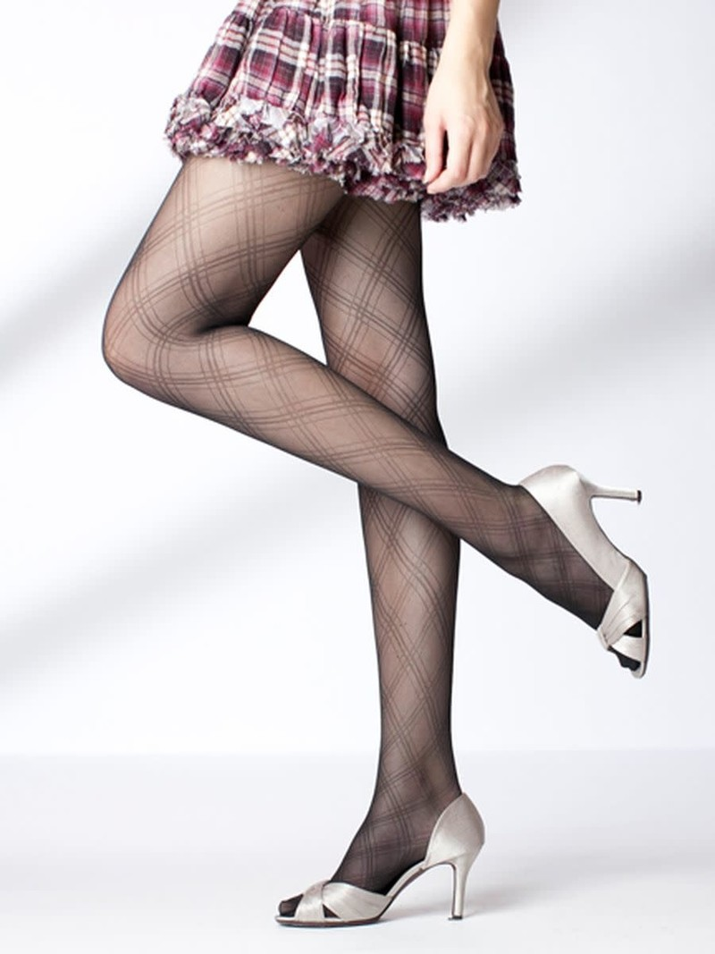 Dubbelgeruite panty L