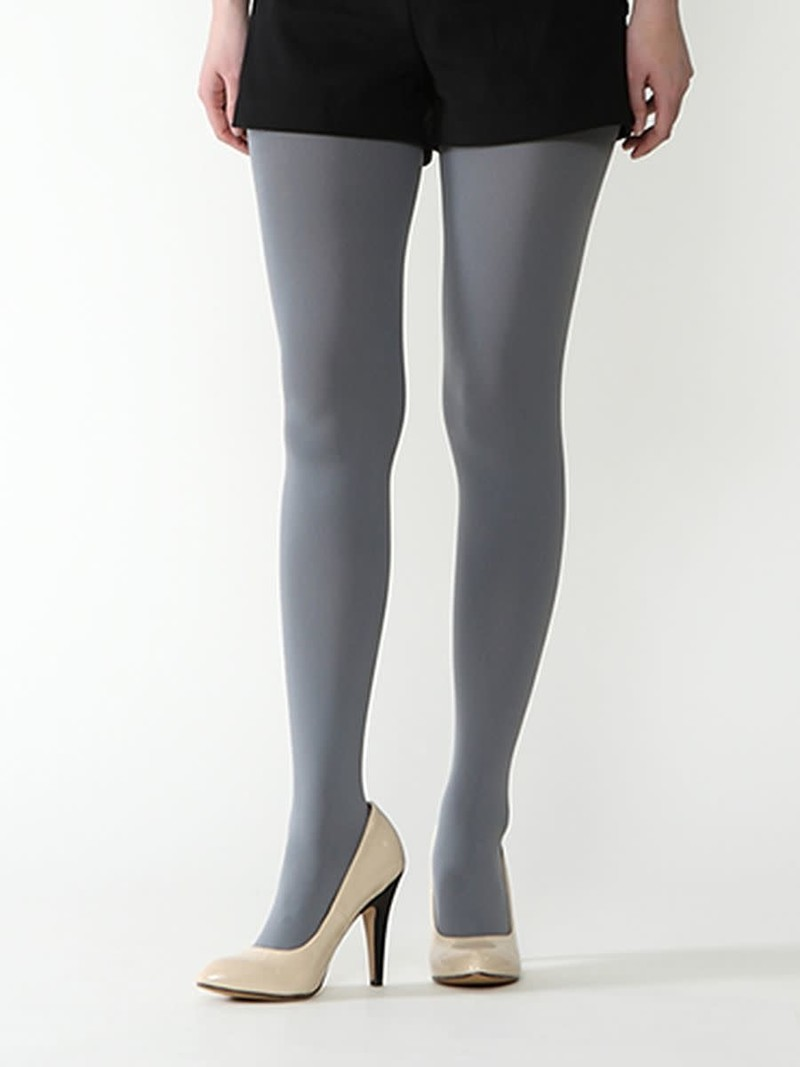 Panty in kleur 110 denier L