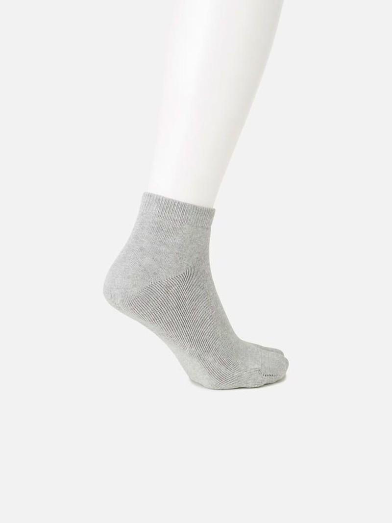 Kurze einfache Frottee Tabi Socke