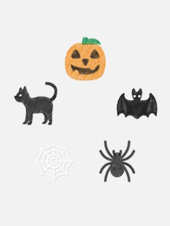Broderie Halloween