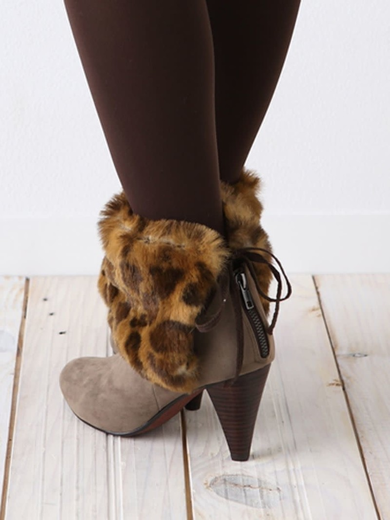 Leopard Boots Cover