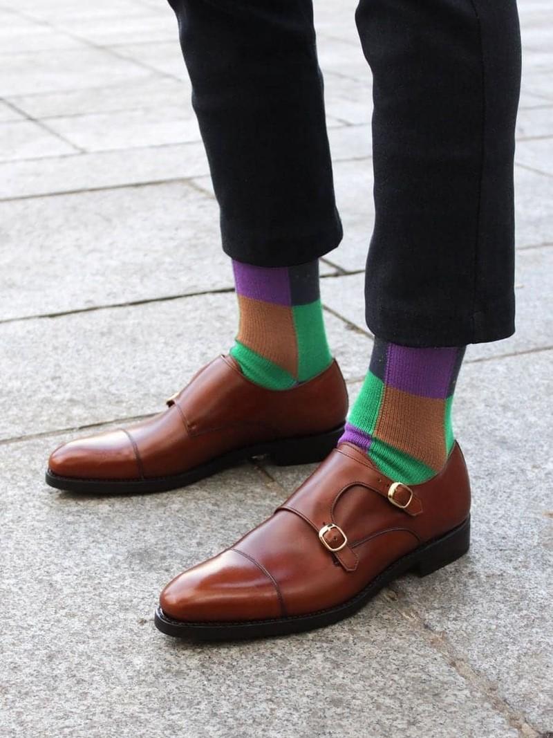 Mid-sock Sock Joker (BATMAN) L