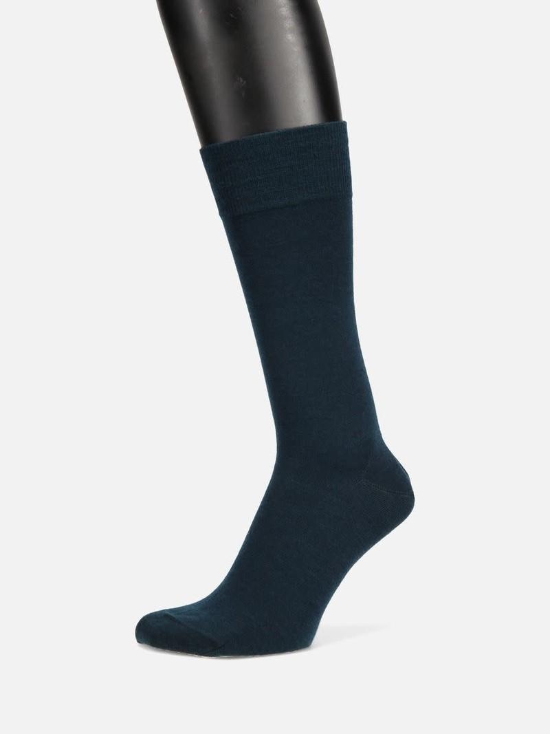 Mi-chaussette laine Mérinos unie fine 200N L