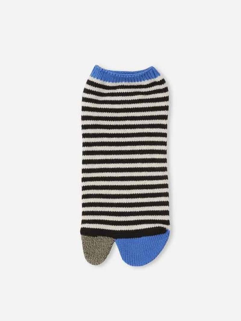 Tabi korte sokken strepen L