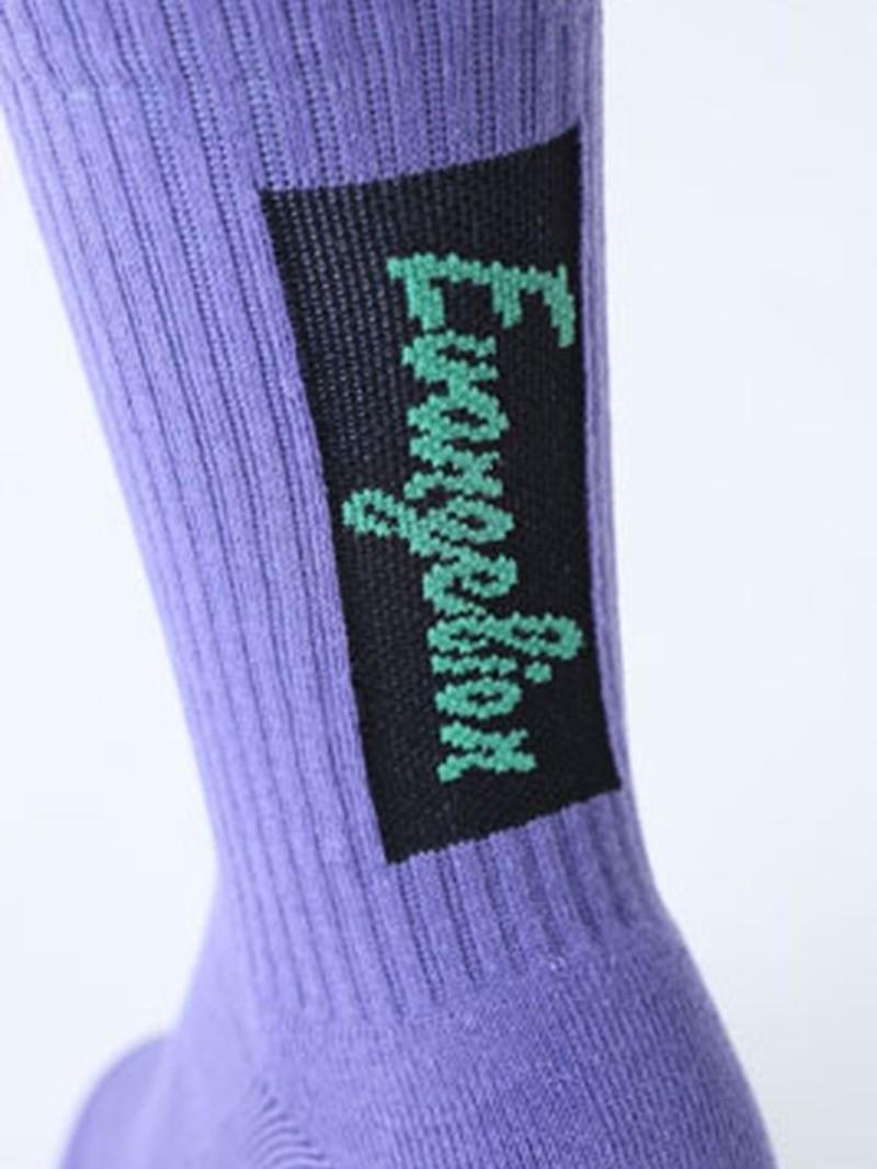 Evangelion Logo Mid-Socke auf der Rückseite S