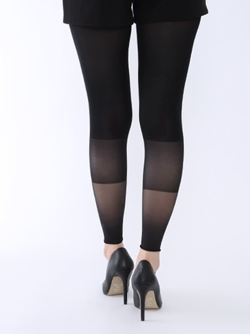 70D uni-legging met kleurverloop