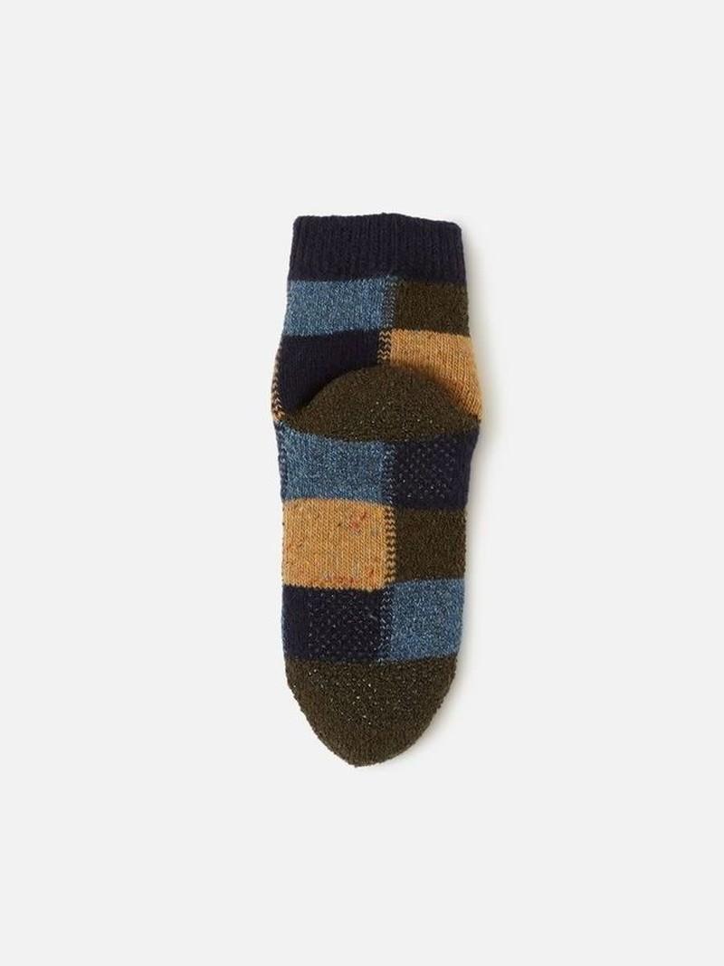 Raum Socken Patchwork Kinder 19-21cm